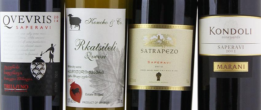 Wijn uit Georgië