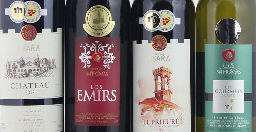 Wijn uit Libanon
