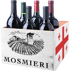 Doosje Krachtige rode wijnen van Mosmieri