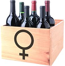 Doosje Vrouwelijke Wijnmakers