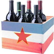 Doosje Rode Balkan Wijnen