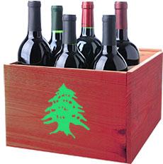 Doosje Rode Libanon