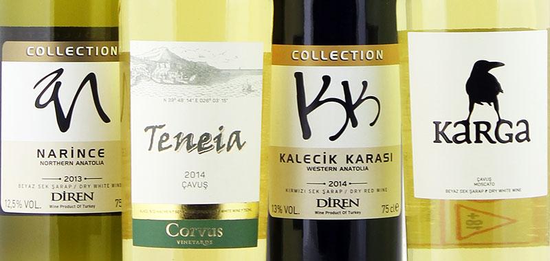 Wijn uit Turkije